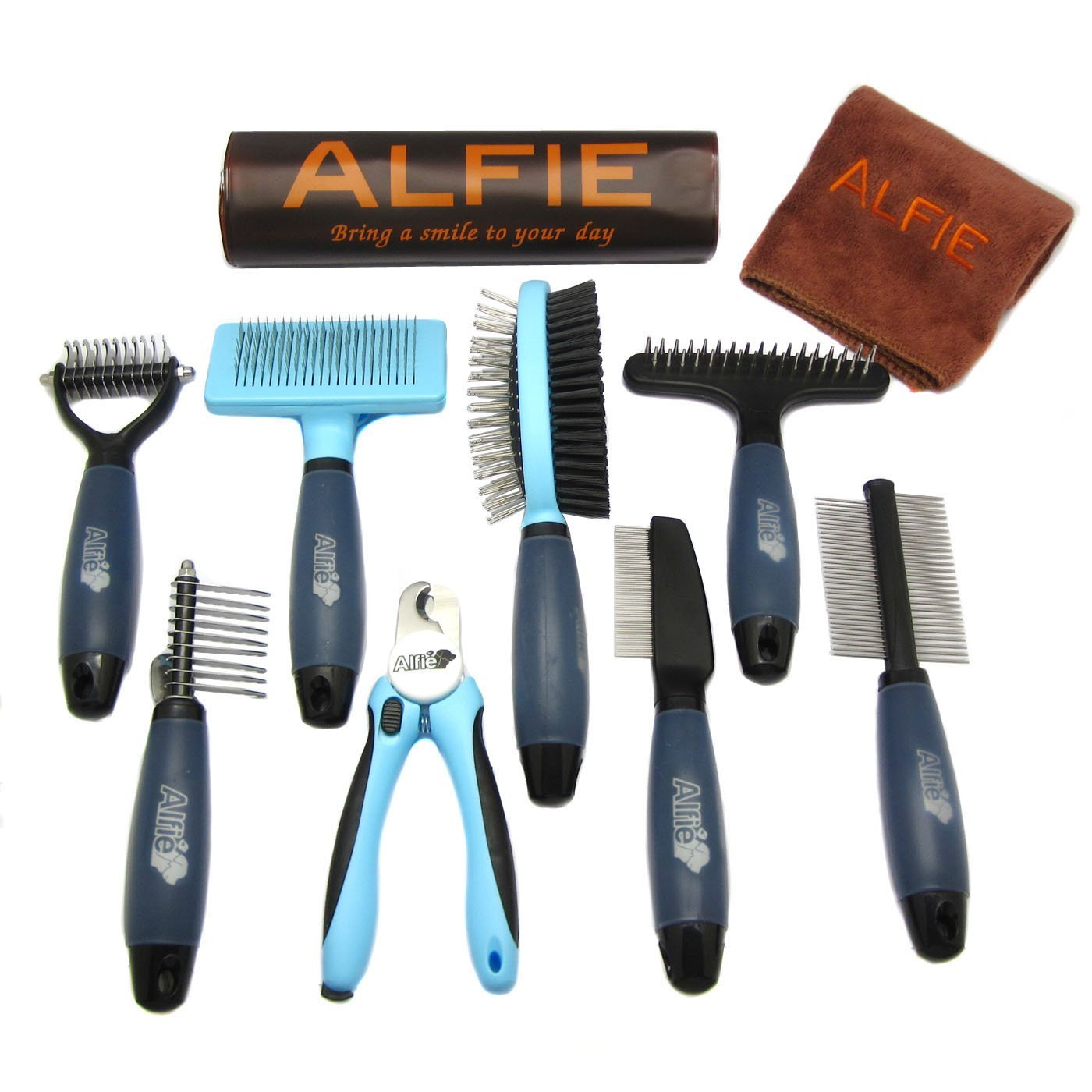 Devin 8-Piece Home Grooming Set