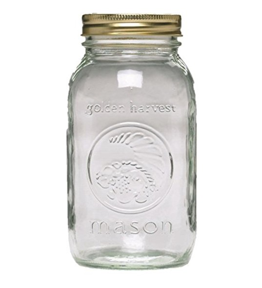 Ball Mason Regular Mouth Quart Jars