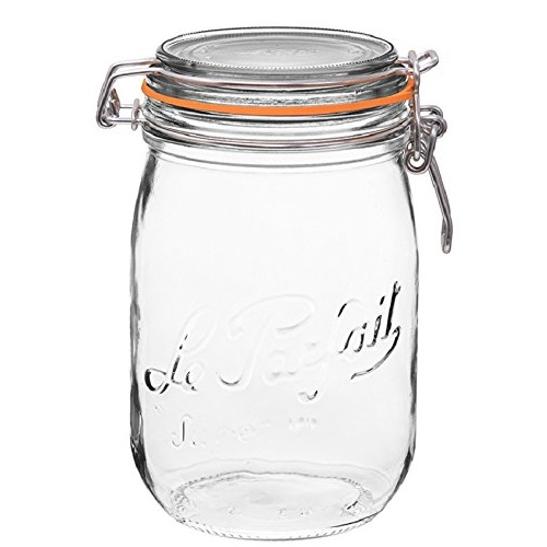 Le Parfait French Super Canning Jars