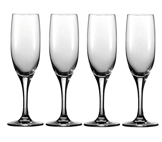 Circleware Vine Champagne Wine Glass Flute Set