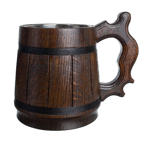 MyFancyCraft Wood Beer Mug