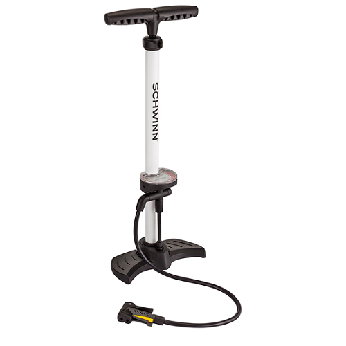 Schwinn 5 in 1 Bike Floor Pump