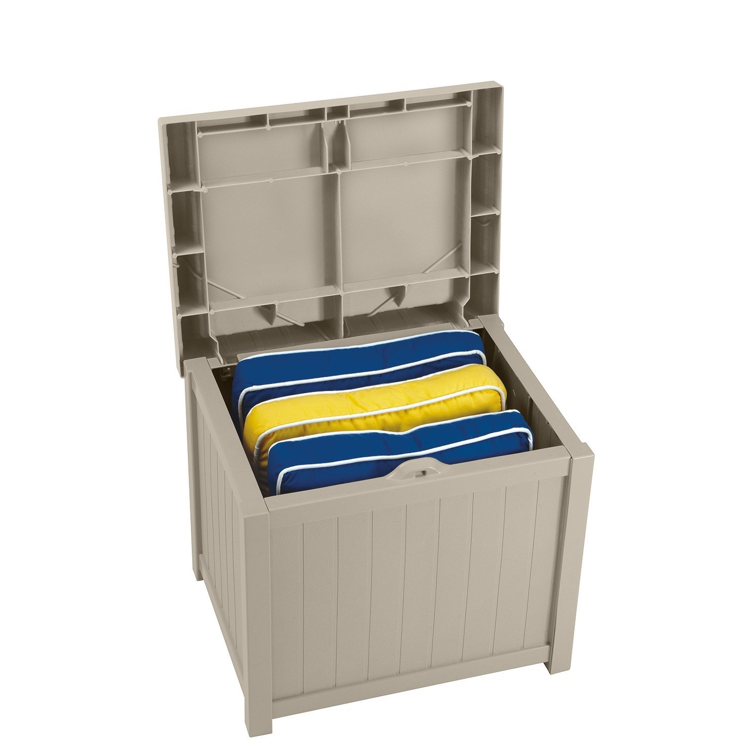 Suncast 22-Gallon Deck Box with Seat