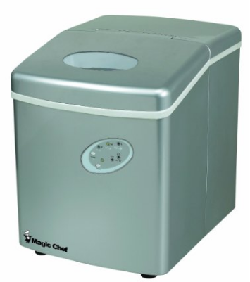 Magic Chef 27-Lb. Ice Maker-Portable