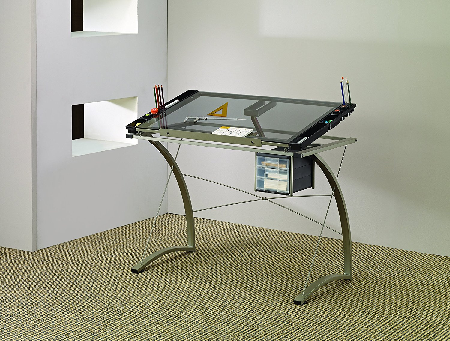 Coaster Desks Artists Drafting Table