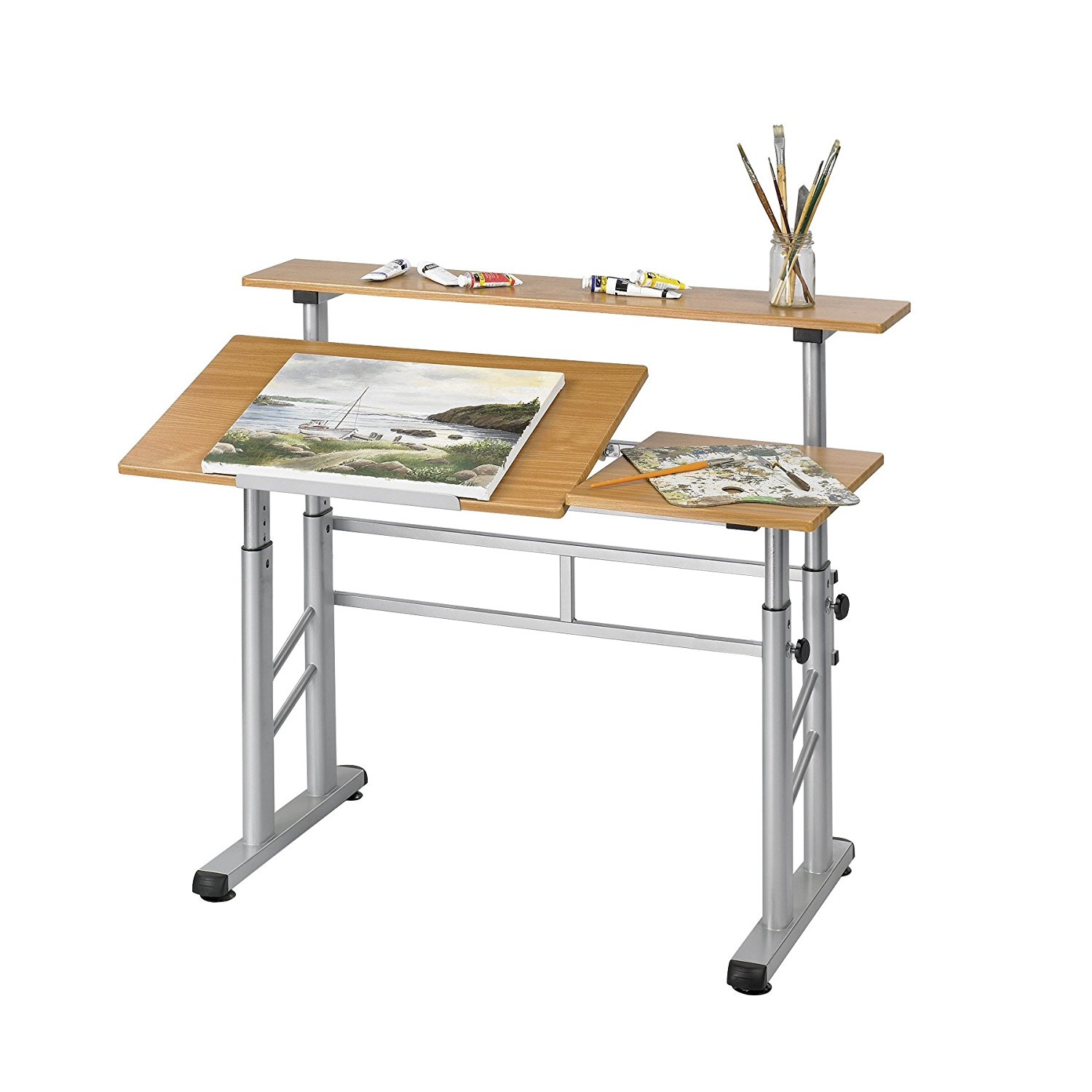 Safco Products Height-Adjustable Split Level Drafting Table
