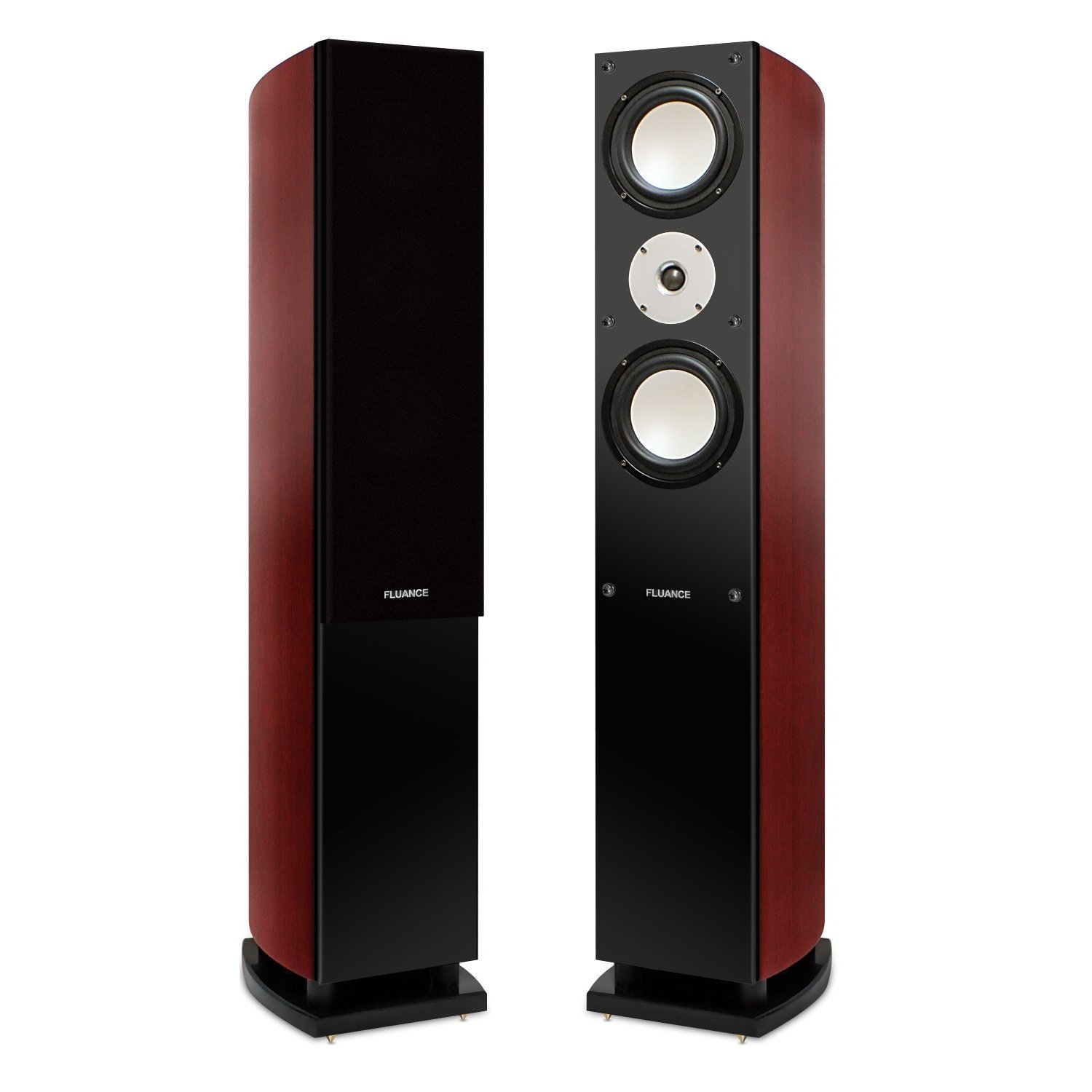 Fluance 3-Way Floor Standing Loudspeakers