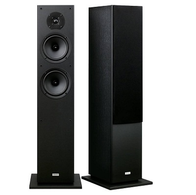Onkyo Bass Reflex Standing Speakers