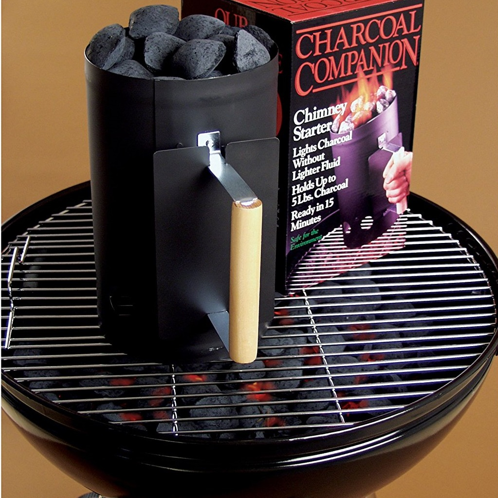 Charcoal Companion Black Chimney Starter