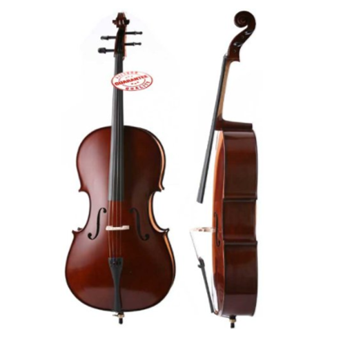 D'Luca Meister Ebony Fitted Cello