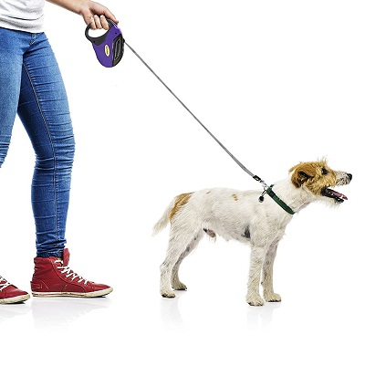 Hertzko Heavy Duty Retractable Dog Leash
