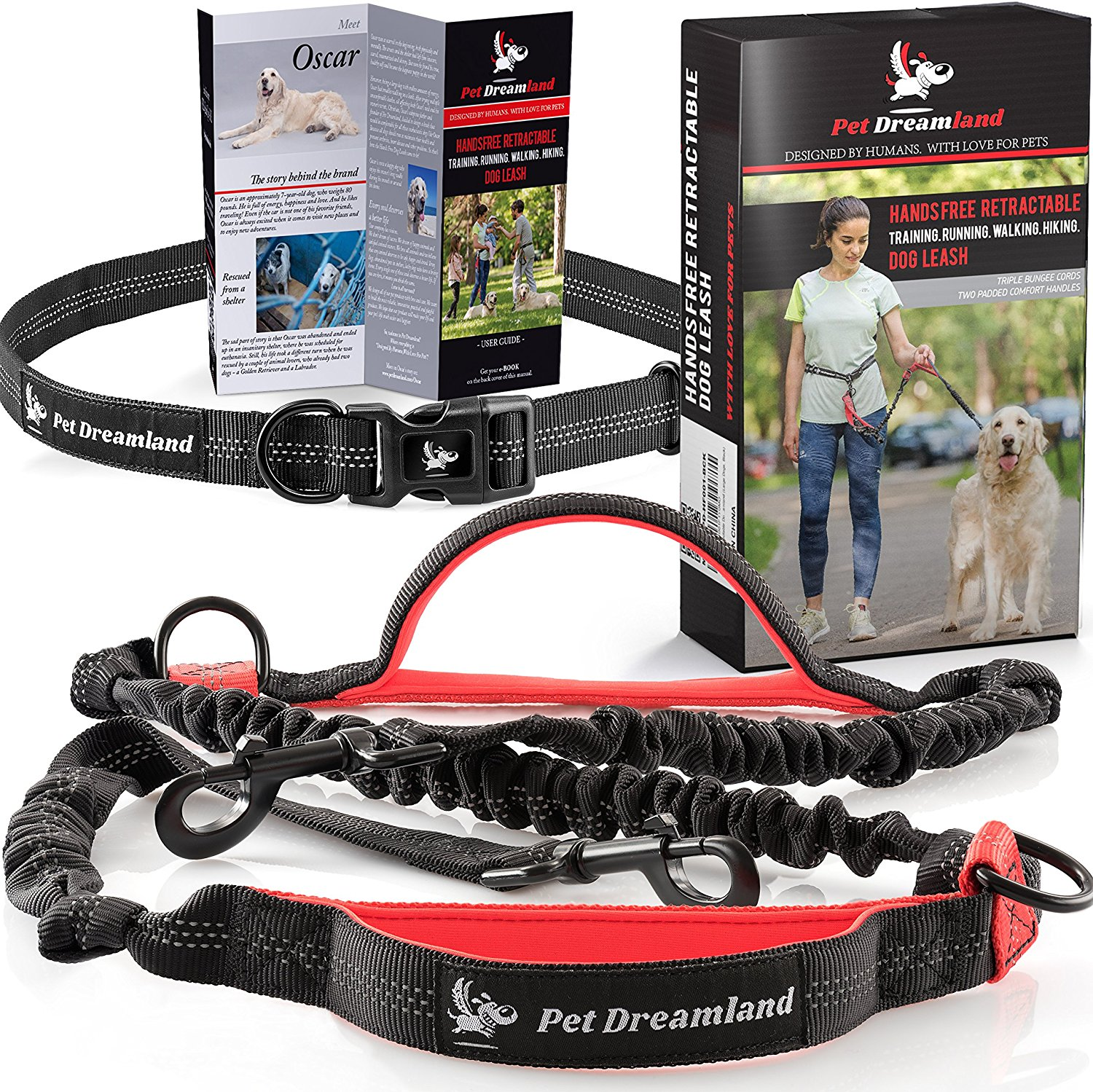 PetDreamland Hands Free Dog Leash