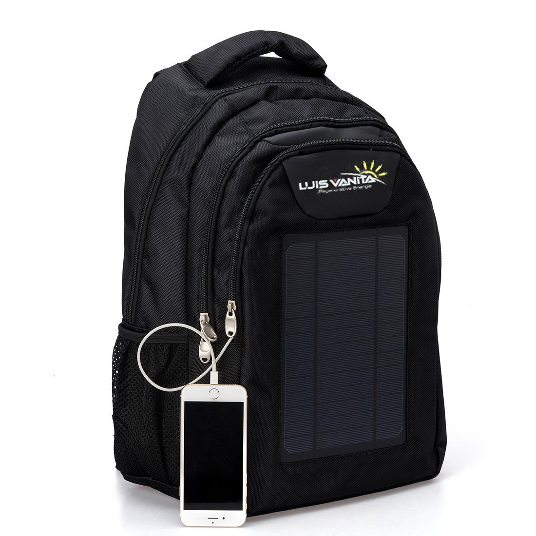 Luisvanita Eco Solar Charger Backpack