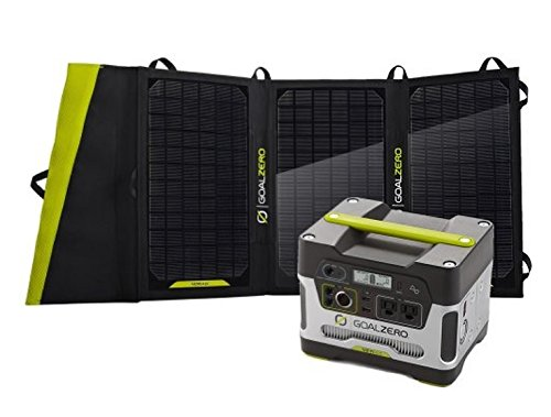 Goal Zero Yeti 400 Solar Generator Kit with Nomad 20 Solar Panel – Available in 4 Pack Sizes