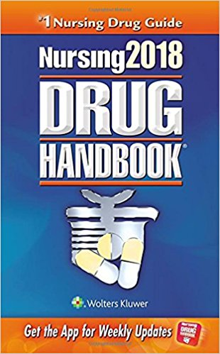 Lippincott Nursing 2018 Drug Handbook