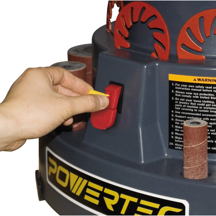 "Powertec 18"" Oscillating Spindle Sander"