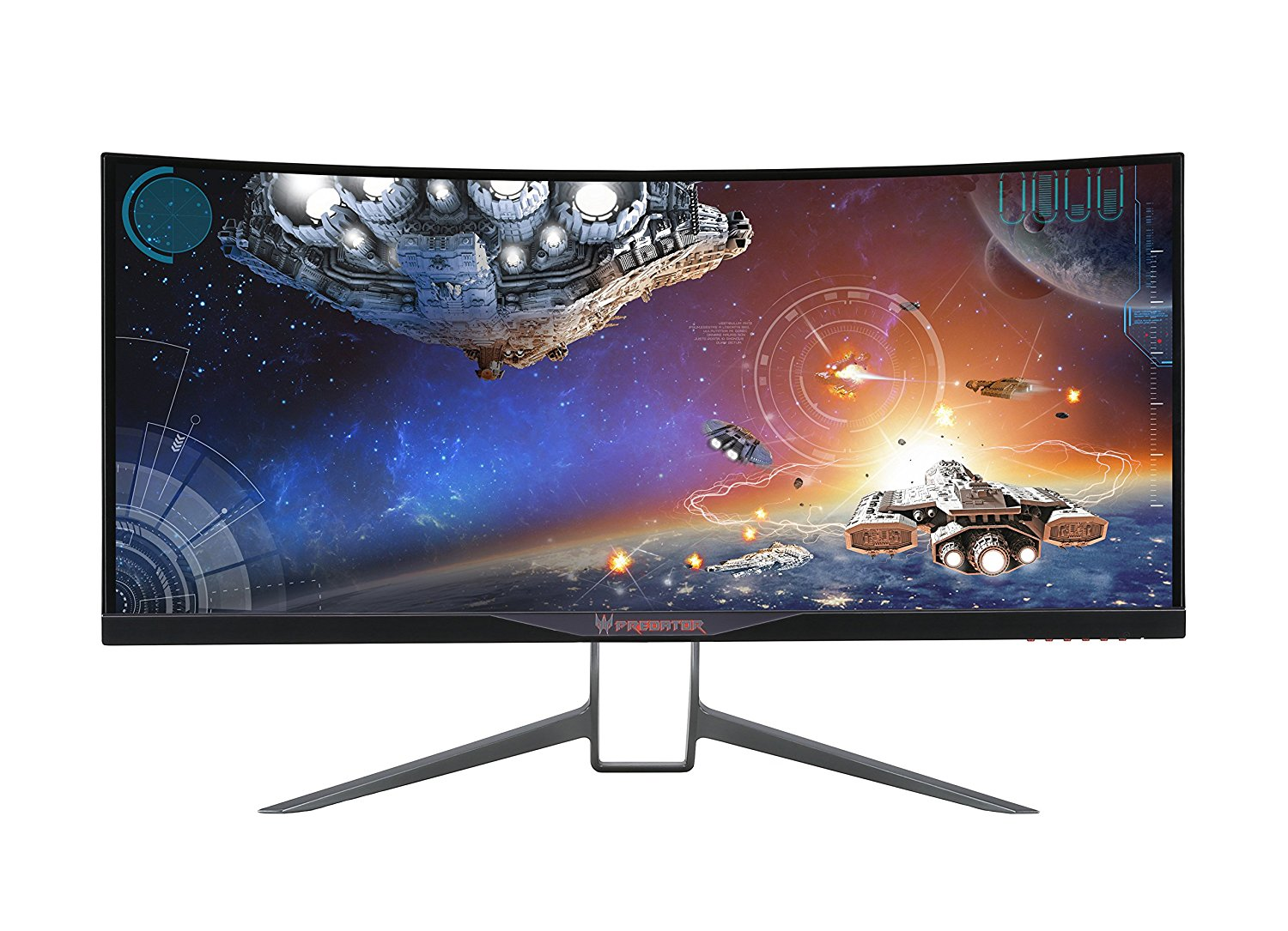 Acer Predator Curved QHD Ultrawide Curved Monitor Computer Monitor - NVIDIA G-Sync Widescreen Display, Available in Multiple Sizes