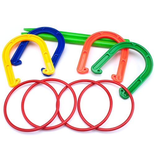 K-Roo Multicolored Horseshoe Set