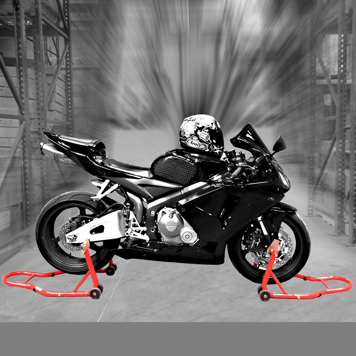 Genssi Motorcycle Stands