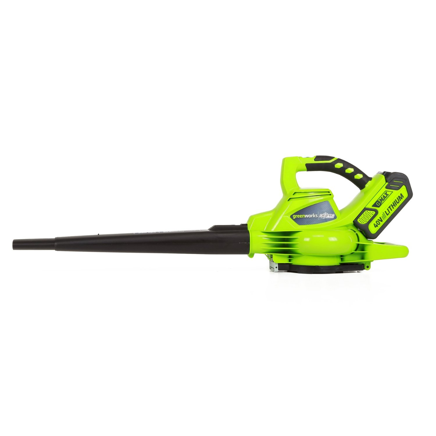 Greenworks G-MAX 40V DigiPro Leaf Vacuum and Blower – Wet/Dry, 185 MPH