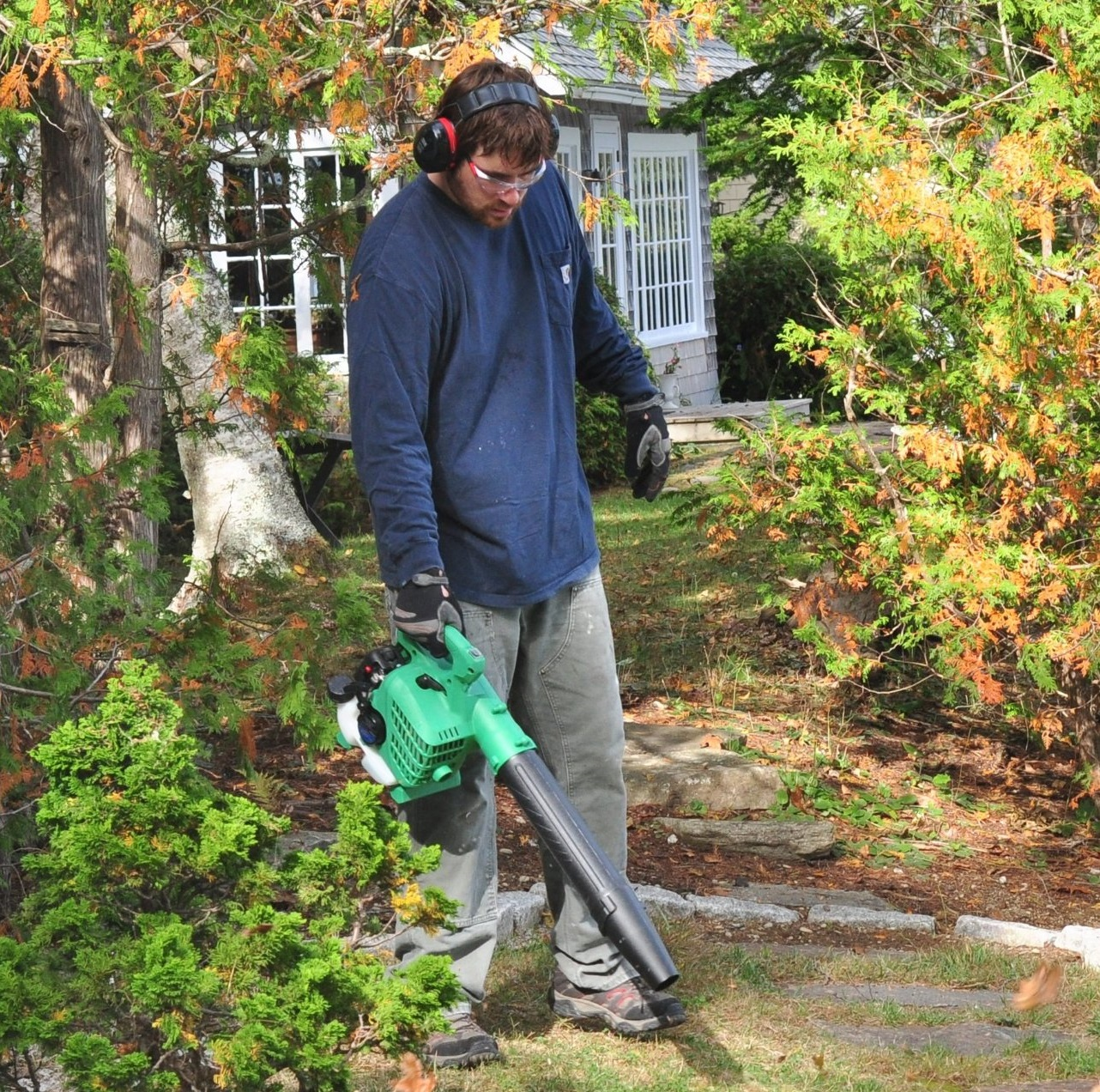 Hitachi RB24EAP 170 MPH Handheld Leaf Blower