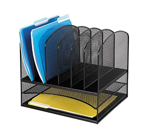 Safco Products Onyx Mesh Desk Organizer