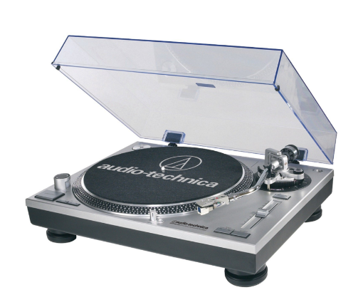 Audio-Technica Direct-Drive Professional Record Player with USB Compatibility – Available in Black or Silver