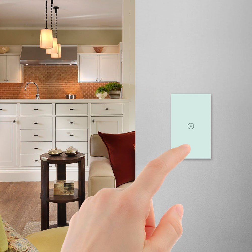 Oittm Touch Screen Wi-Fi Wall Switch