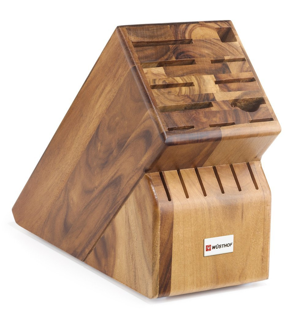 Wüsthof 17-Slot Acacia Knife Block