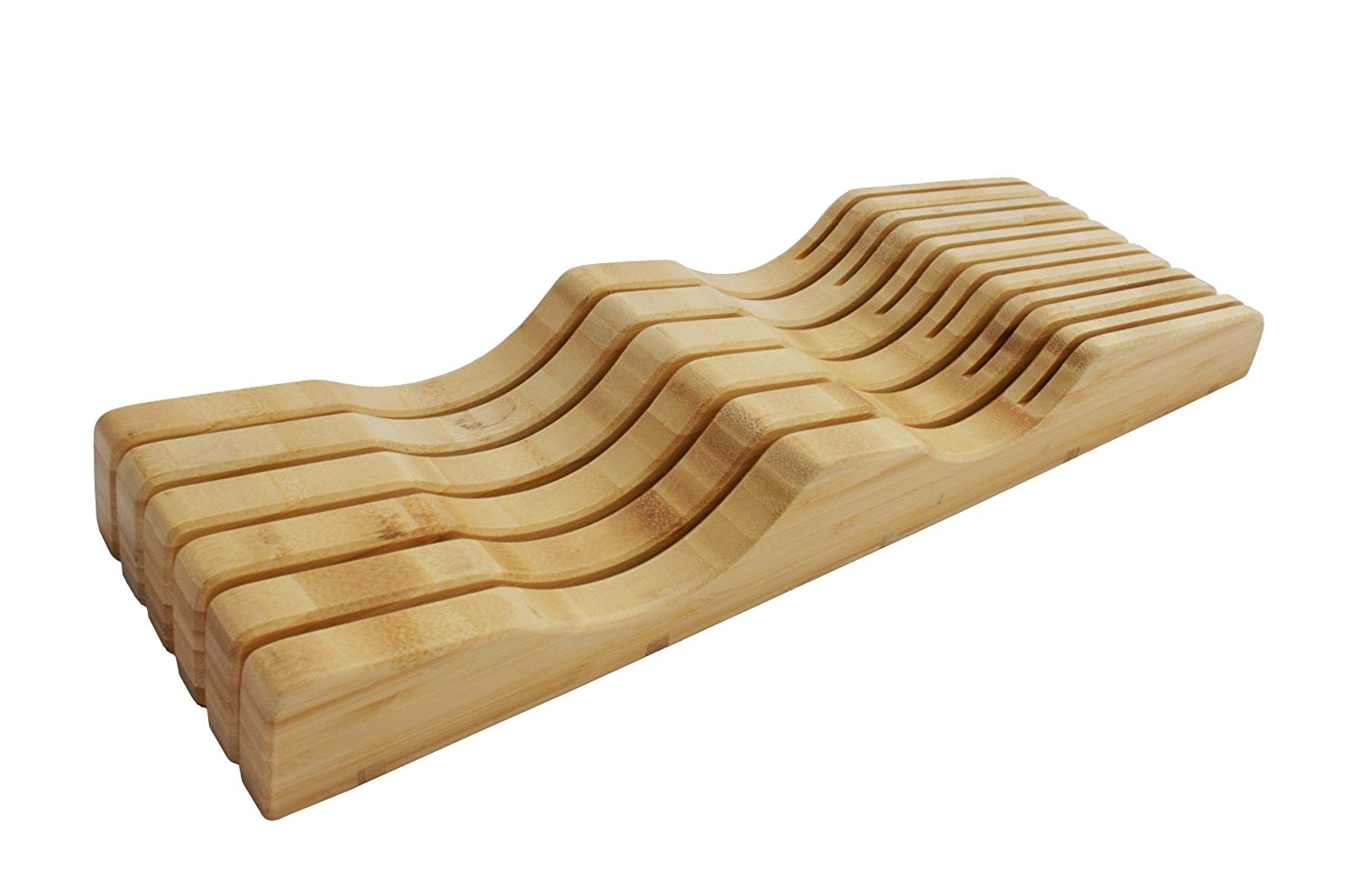 Shenzhen Knives In-Drawer Bamboo Knife Block