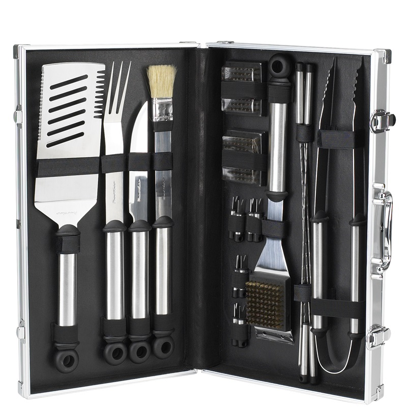 Picnic at Ascot BBQ Stainless Steel Master Grill Tools
