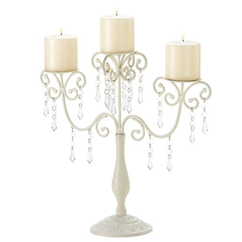 Gifts & Decor Ivory Candelabra