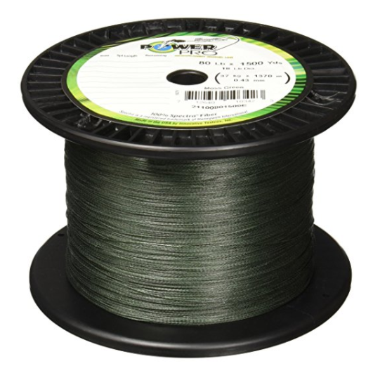 PowerPro Spectra Fiber Braided Fishing Line – Available in 8 Colors and Multiple Weights and Lengths