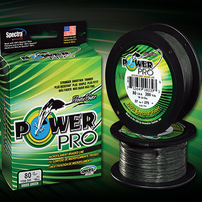 PowerPro Spectra Fiber Braided Line