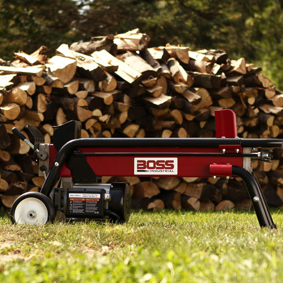 Boss Industrial Electric Log Splitter