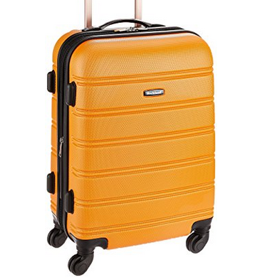 Rockland Melbourne Expandable Abs Carry On Luggage