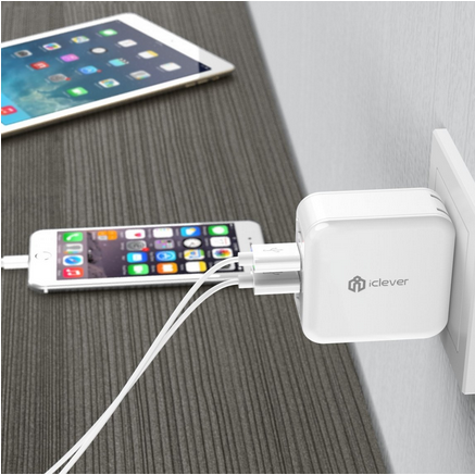 iClever BoostCube Universal USB Wall Charger