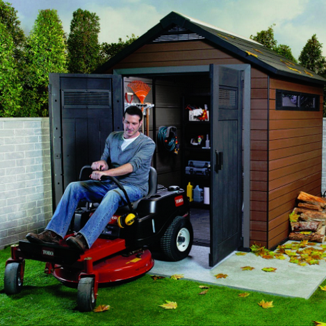 Keter Fusion 757 Storage Shed