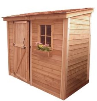 Cedarshed Bayside Kit Storage Shed
