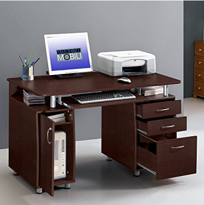 Techni Mobili Computer Table with Storage