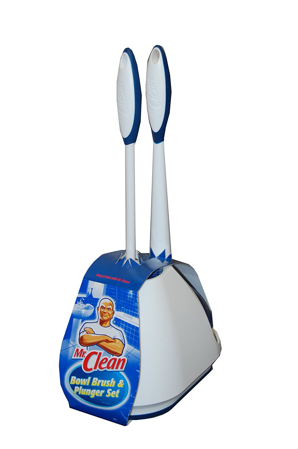 Mr. Clean Bowl Brush & Plunger Set