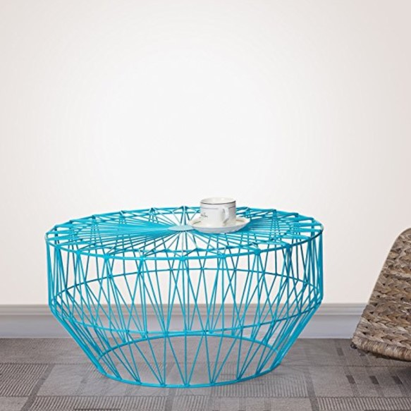 Joveco Round Top Metal Coffee Table