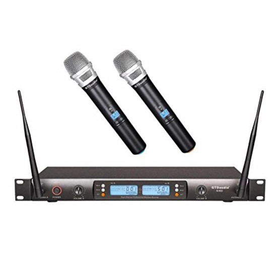 GTD Audio 2x100 Channel Wireless Mic
