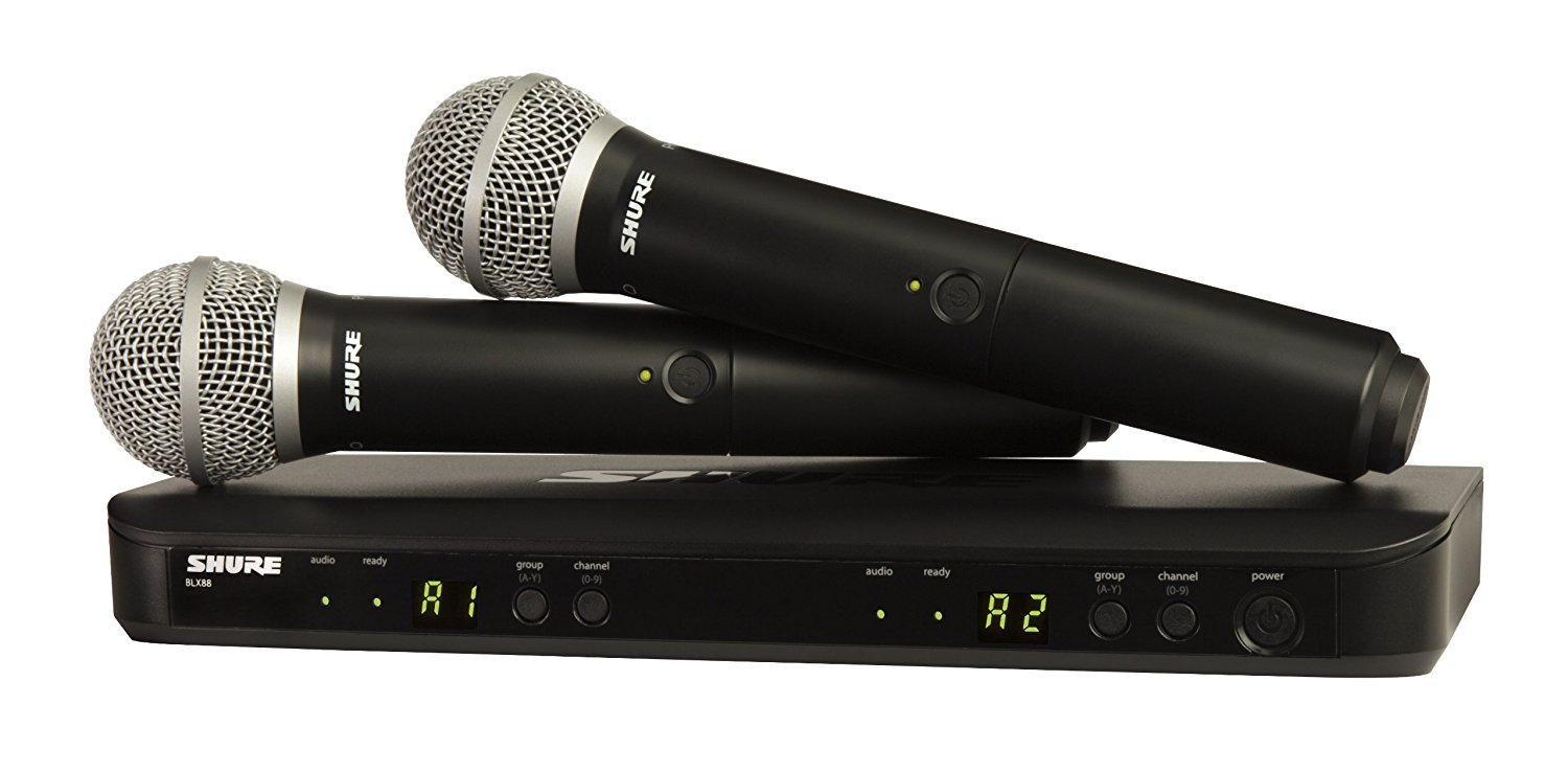 Shure Handheld Microphone System