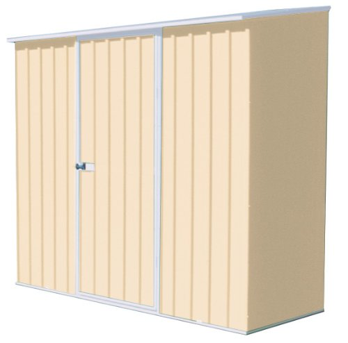 ABSCO Spacesaver Classic Cream 7 by 3-Foot Tool Shed