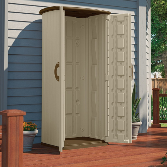 Suncast Vertical Utility Tool Shed