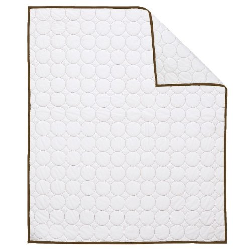 Bacati Quilted Circles Quilt