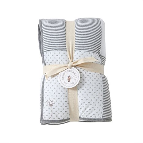 Burt's Bees Baby Dottie 100% Organic Reversible Quilt - Available in 3 Colors