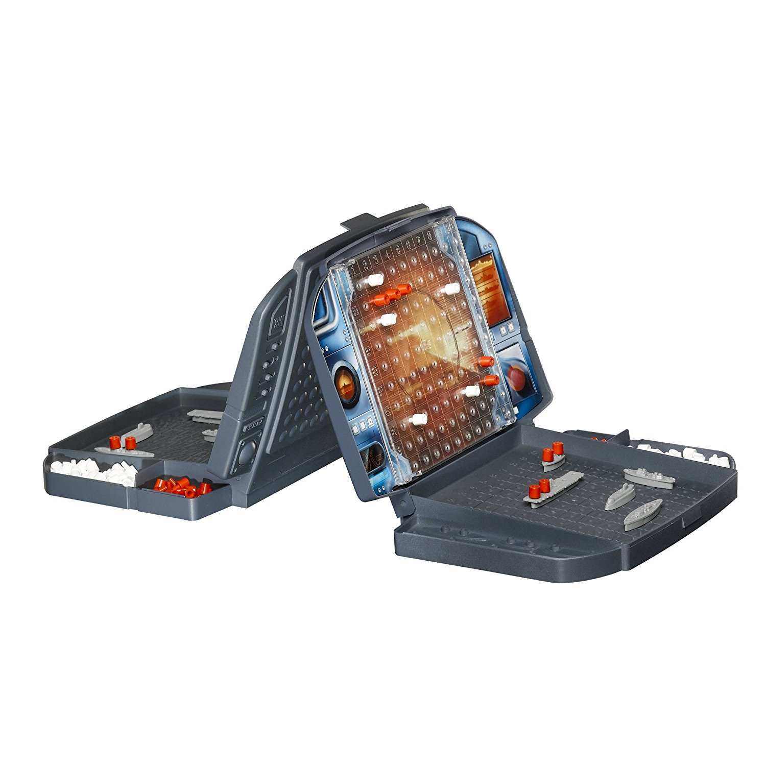 Hasbro Travel Battleship Game with Pegs