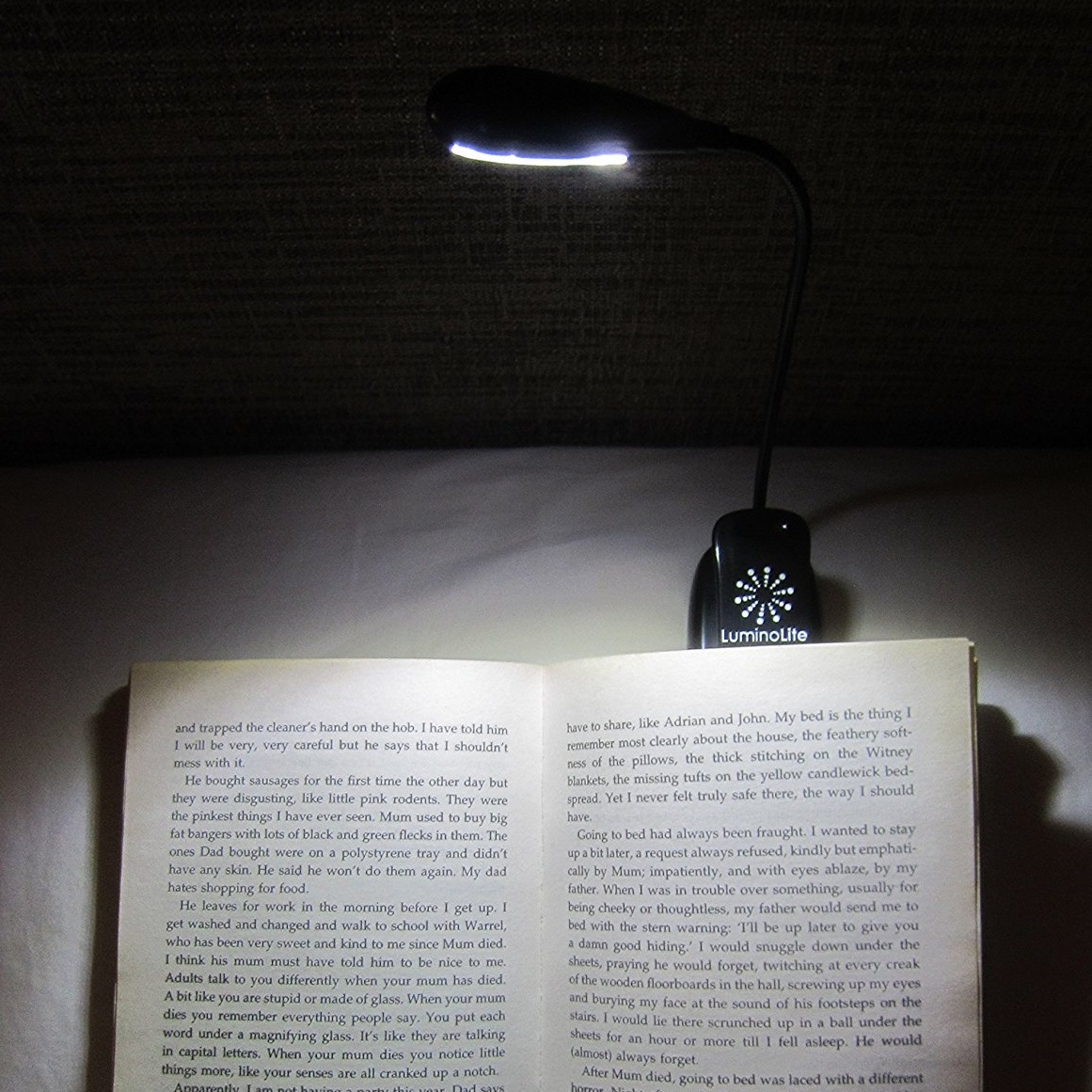 LuminoLite Rechargeable Reading Light